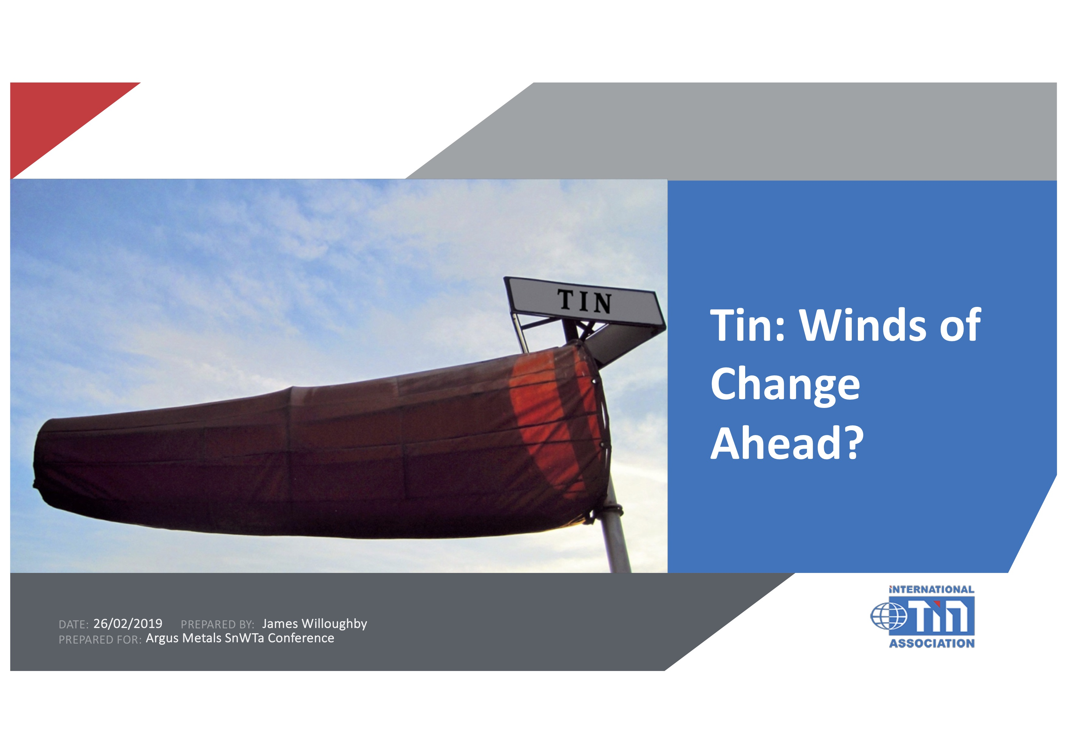 ITA:Tin - Winds of Change Ahead?
